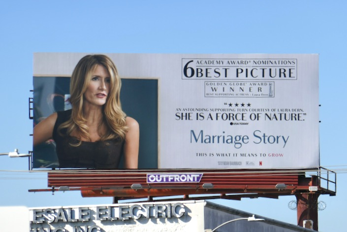 Laura Dern Marriage Story Oscar billboard