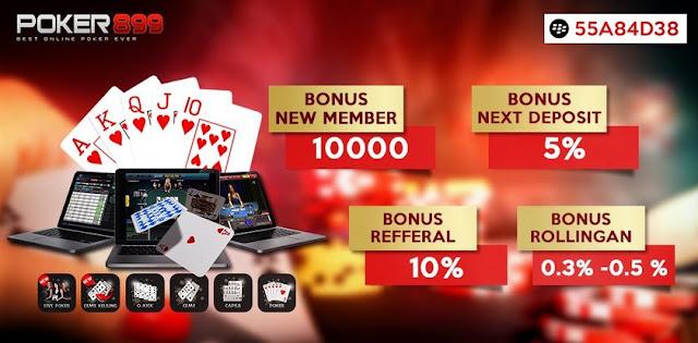 poker899  bonus chip poker 10000 deposit 15000