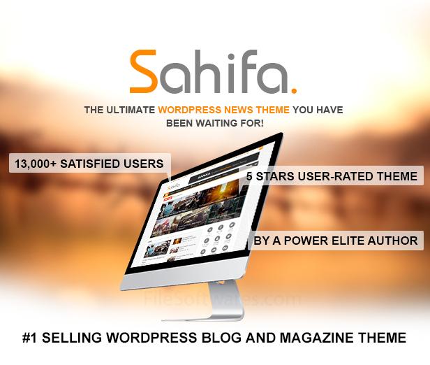 tema - Sahifa descarga gratuita tema de wordpress