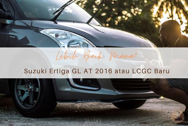 Kelebihan Suzuki Ertiga GL AT 2016