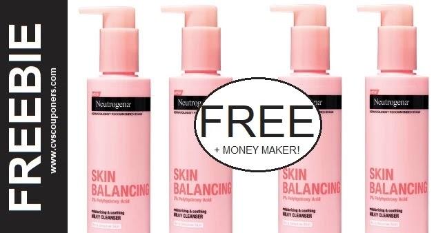 FREE + Money Maker Neutrogena Cleanser CVS