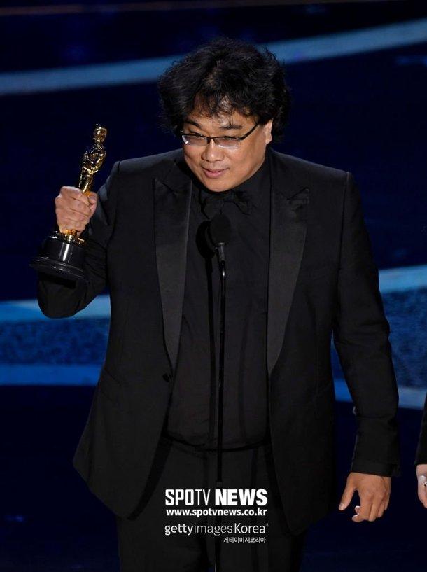 'Parasite' Oscar töreninde tarih yazdı