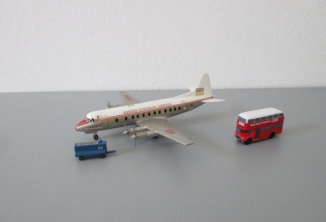 1/144 1/200 VickersViscount diecast metal aircraft miniature