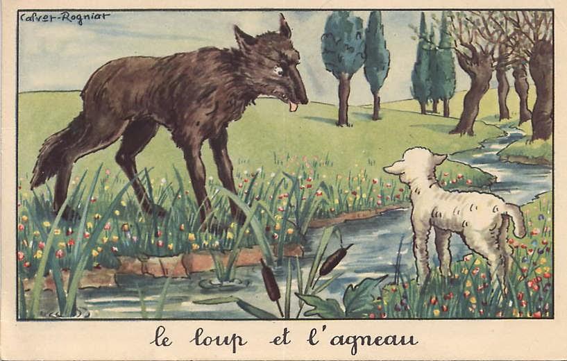 Le Loup et lAgneau — Wikipédia