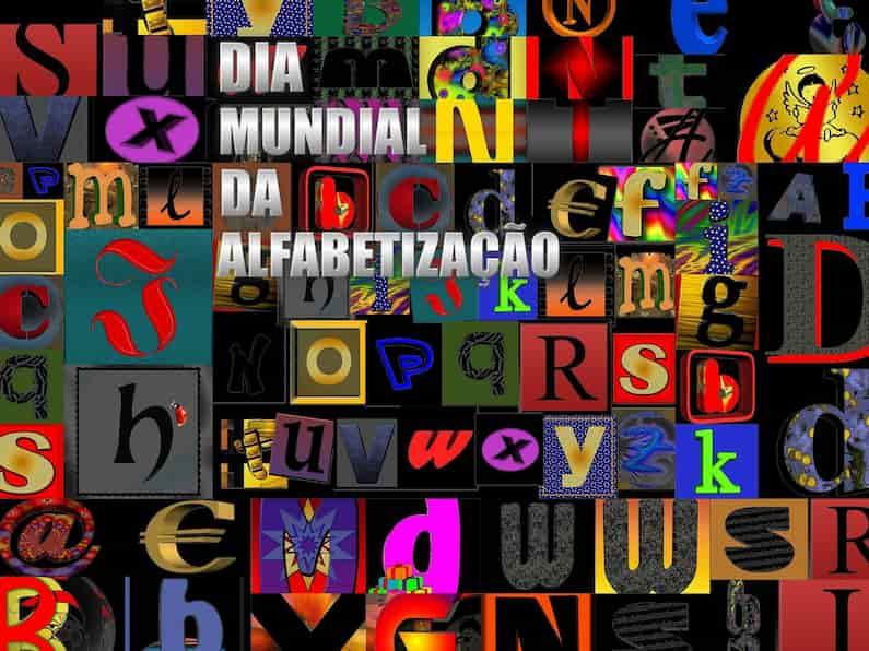 O Dia Mundial da Alfabetização foi criado pela ONU/Unesco, em 8 de setembro de 1967, para destacar a importância social da alfabetização. A alfabetização infantil é uma etapa extremamente importante para o desenvolvimento dos pequenos e é um direito universal. A Alfabetização define-se como o processo de aquisição e de apropriação do código alfabético, ou seja, um processo de percepção do som e da grafia da letra.