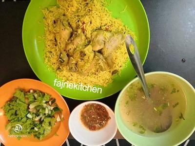 13 - Resepi Nasi Arab Ayam Kambus