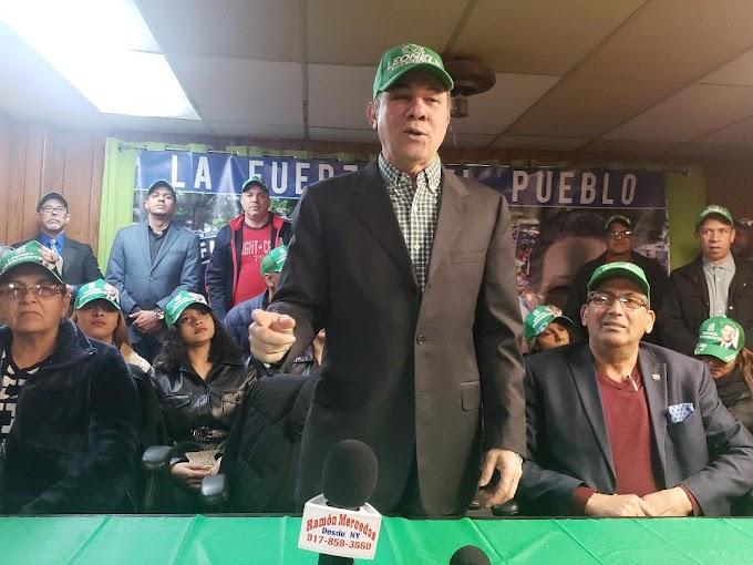 Dirigentes Fuerza del Pueblo en Nueva Jersey se mantendrán vigilantes ante elecciones dominicanas