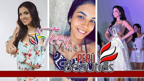 Nicolle Tassara es Miss Teen Perú Universo 2018