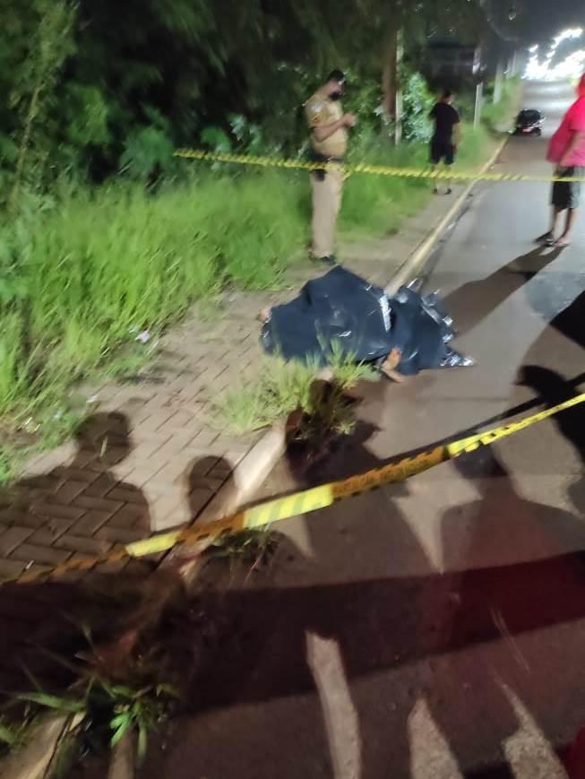Laranjeiras do Sul: Homem reage à abordagem policial e acaba morto no Lago II