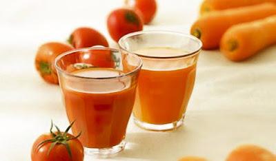 Manfaat Jus Tomat dan Wortel Meningkatkan Sperma Pria