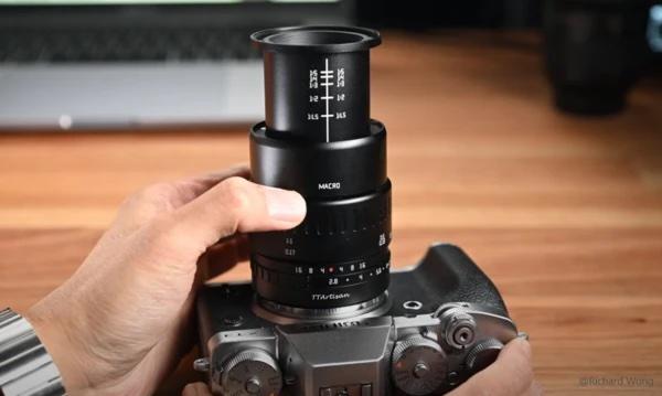 Макрообъектив TTArtisan 40mm f/2.8 с камерой Fujifilm
