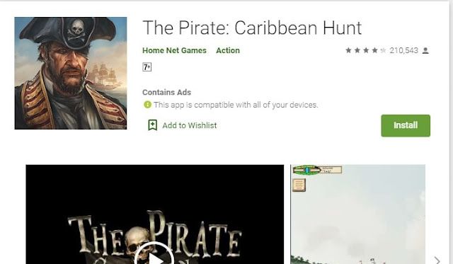 best pirate ship games for android