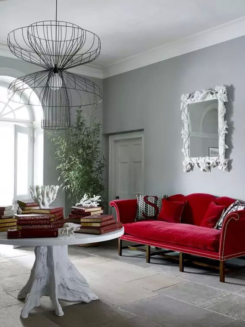 Red Living Room Color Schemes | Try At Home