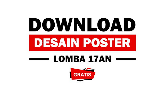 Download Poster Lomba 17 Agustus Gratis