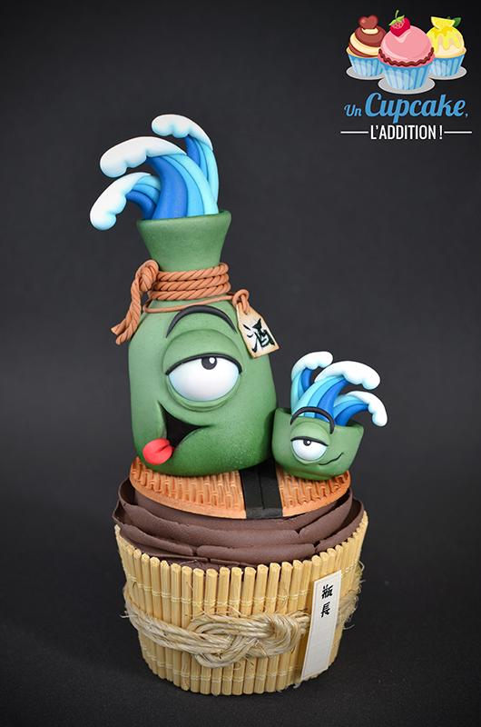 Cupcakes « Tsukumogamis  »