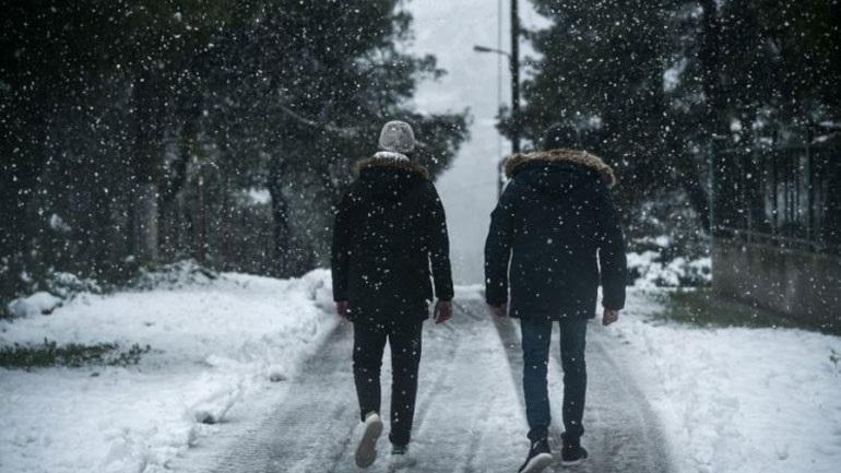 Δείτε live με ένα κλικ πού χιονίζει στην Ελλάδα