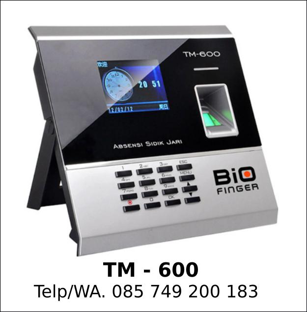Jual Fingerprint TM-600 Murah Berkualitas