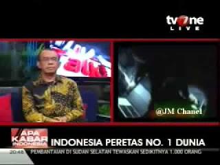peretas no 1 indonesia