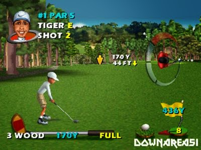 Cyber Tiger PSX Game