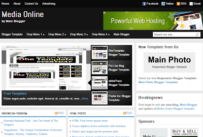 Download Template Magazine untuk Blog Berita News