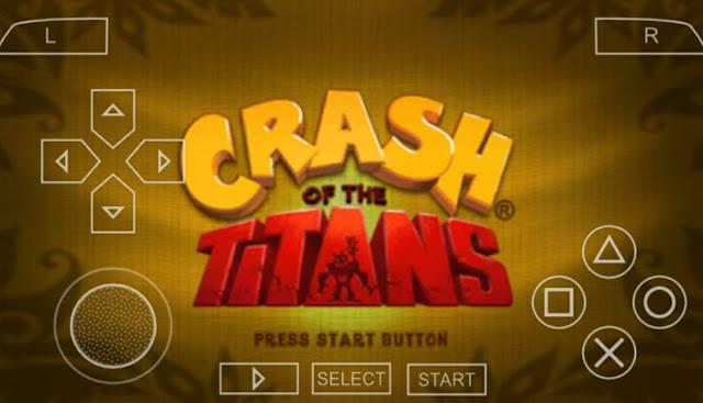 Crash Of Titans 70mb ISO CSO