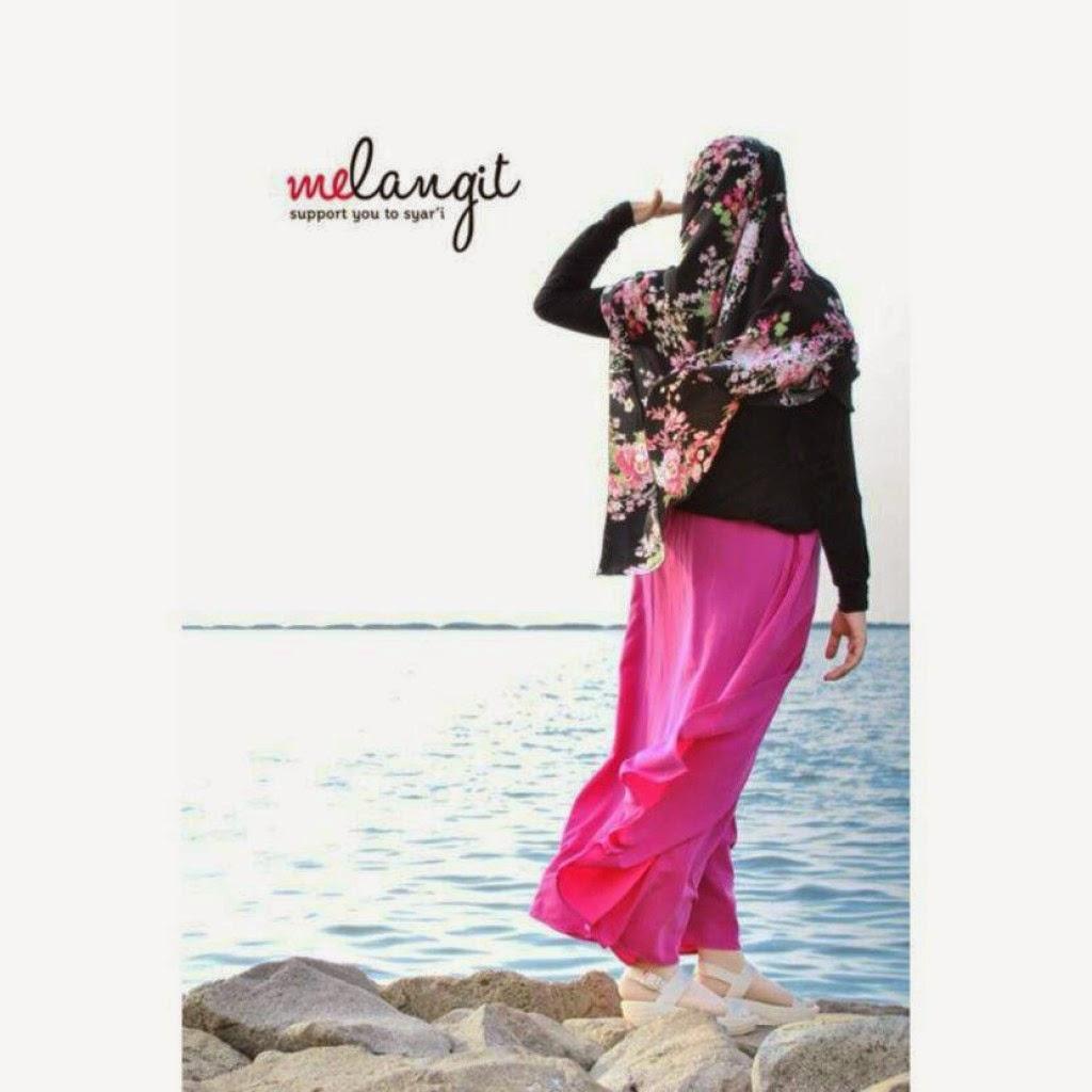 photogaphy hijab syar'i melangit