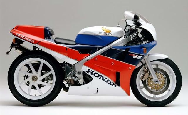 Honda VFR750R RC30 1980s Japanese superbike