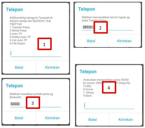 Cara Mengirim Pulsa Telkomsel Ke Nomor Lain Terbaru 2020