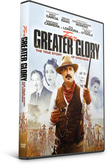 For Greater Glory DVDR NTSC Español Latino Mexico 2012