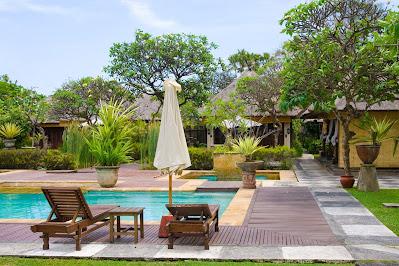 Balinese Pool Garden