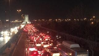 طهران.. تواصل التظاهرت المنددة بإسقاط الطائرة الأوكرانية(فيديو)