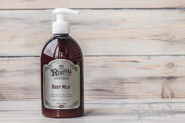 Body Milk para piel seca de Mi Rebotica.
