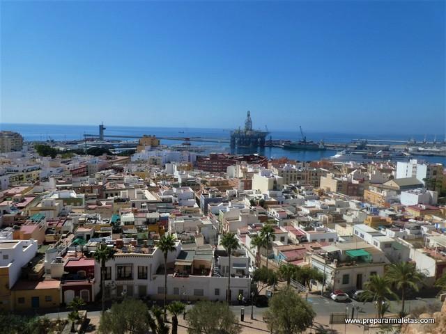 visitar la Alcazaba de Almería