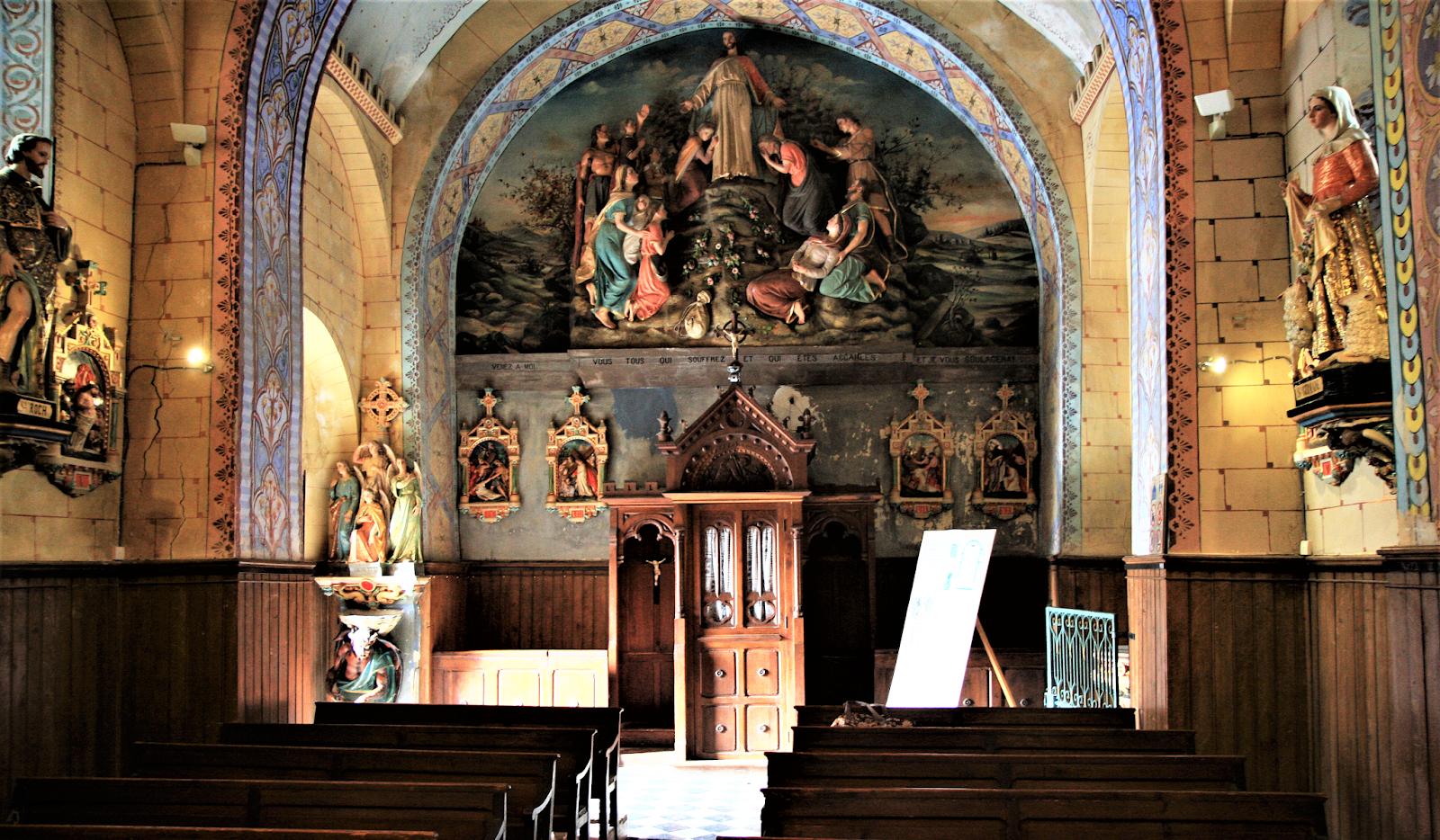 Rennes le-Chateau. Kościół