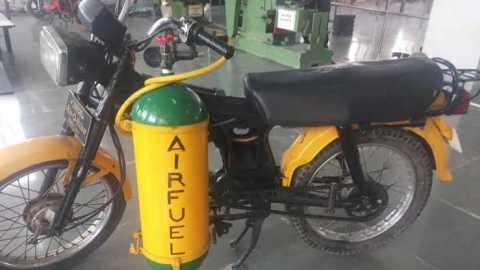 ना पेट्रोल से ना डीजल से अब चलेगी मोटरबाइक हवा के दाब से