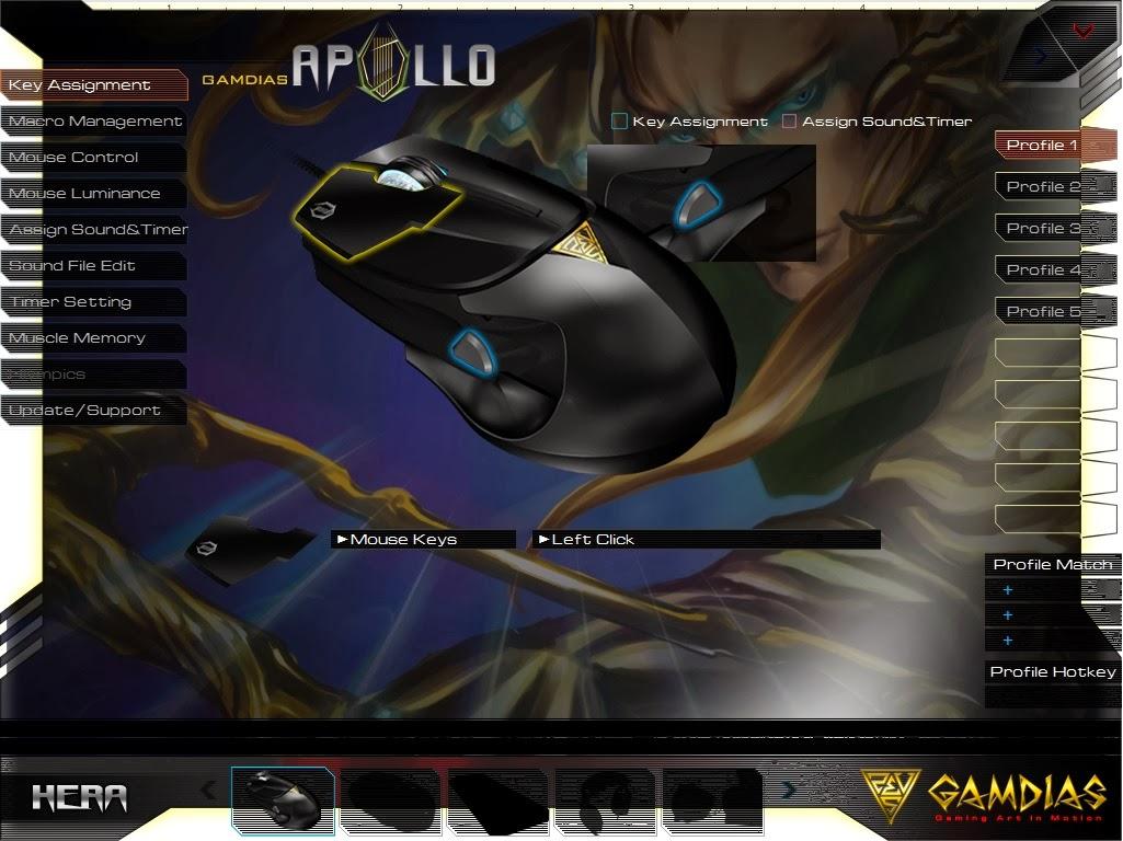 Gamdias Apollo Extension Optical Gaming Mouse 68