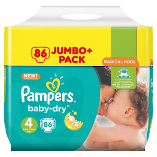moms save your money, cheer son or daughter! Pampers Baby Dry 4, 5+ jumbo £9 morrison