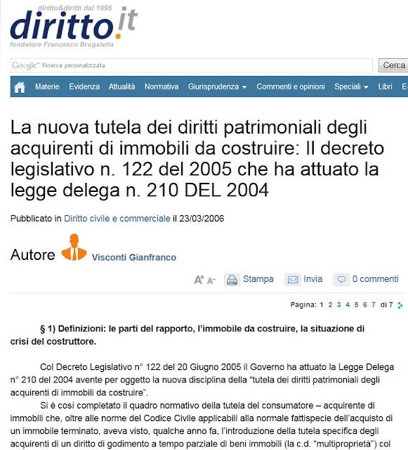 Tg roma talenti ci scrive un lettore ora che il gruppo mezzaroma virtualmente fallito - Fideiussione bancaria o assicurativa acquisto casa ...