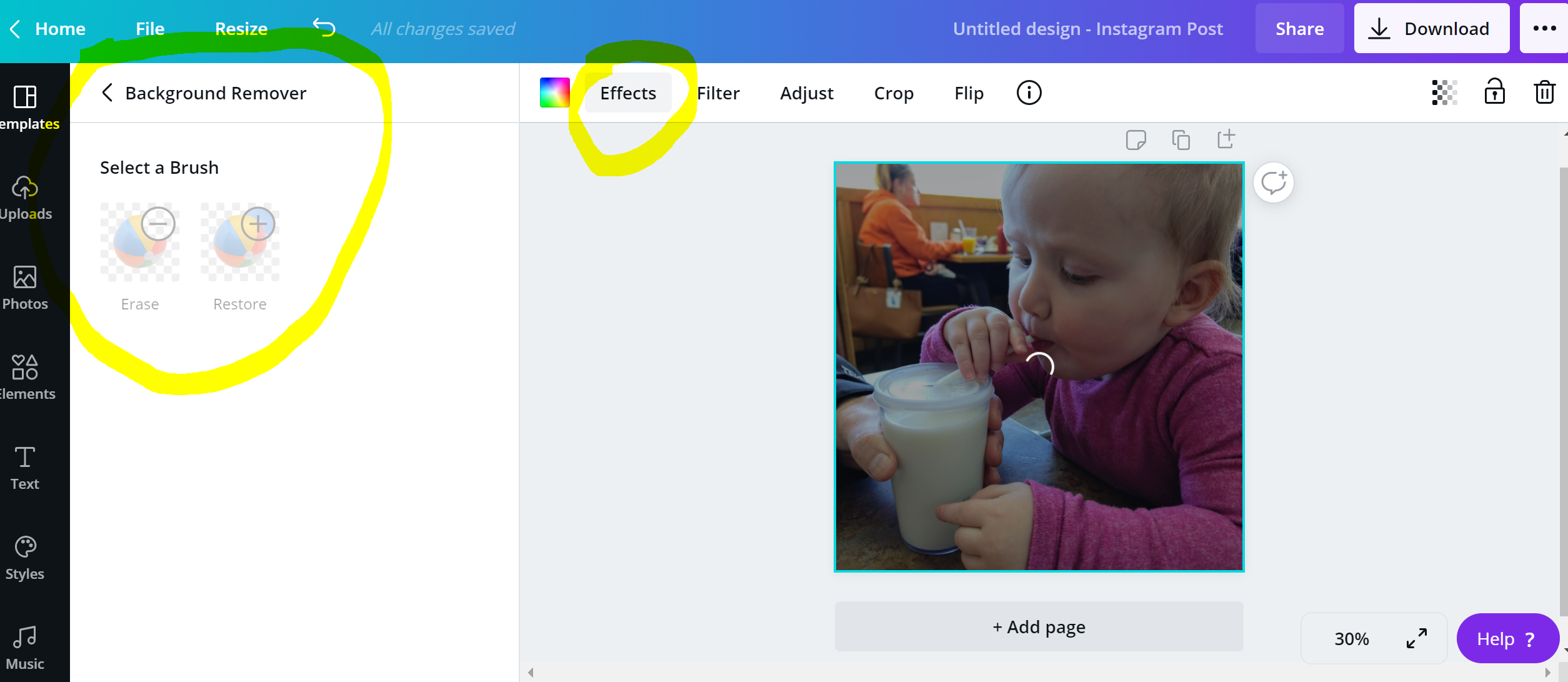 A Helpful Update to Canva's Image Background Removal Tool ...
