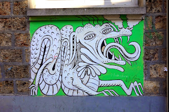 Sunday Street Art : Paul Santoleri - rue du Jourdain - Paris 20