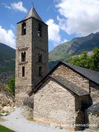 Iglesia de San Juan de Boí, Valle de Boí (Lérida)