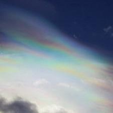 ... Arosa - irisierende Wolken