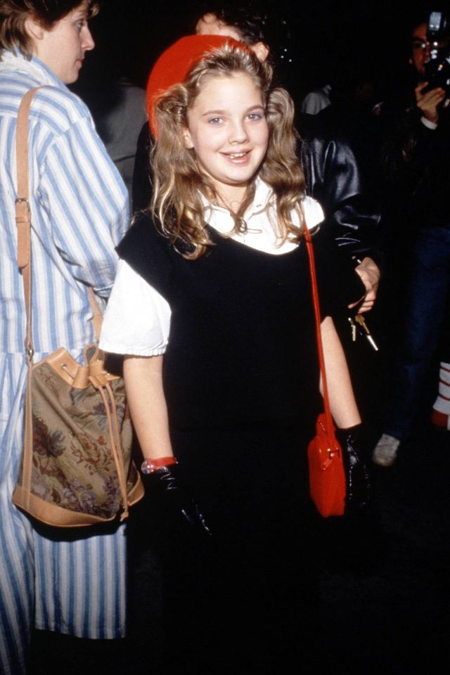 Drew barrymore young old fashioned - Google Search | Drew