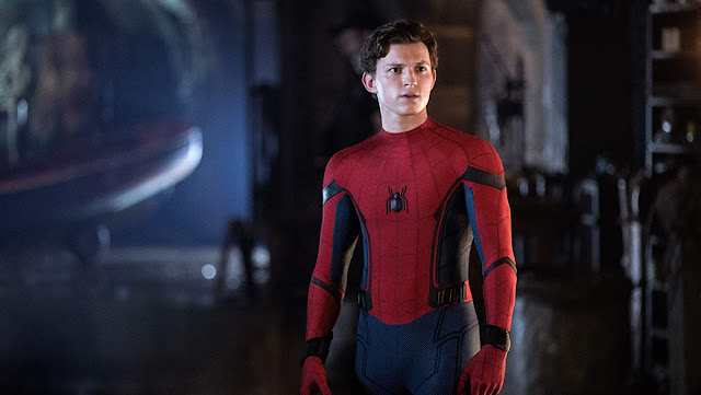 tom holland as peter parker