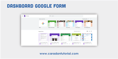 Dashboard google form