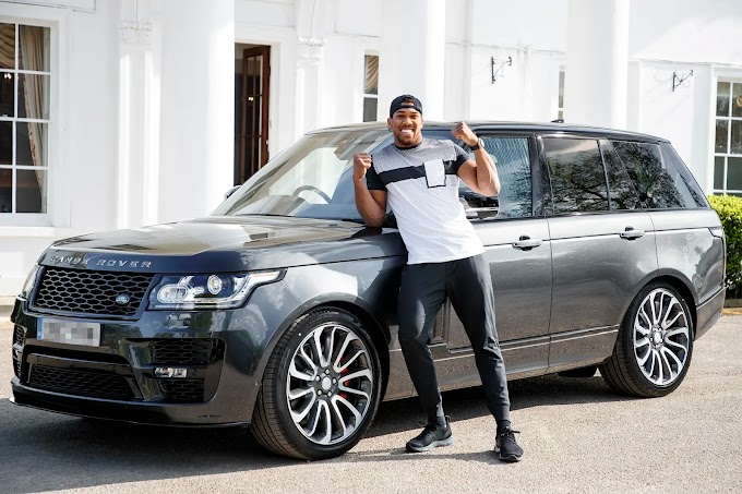 Special Autobiography Range Rover designed specially for Anthony Joshua