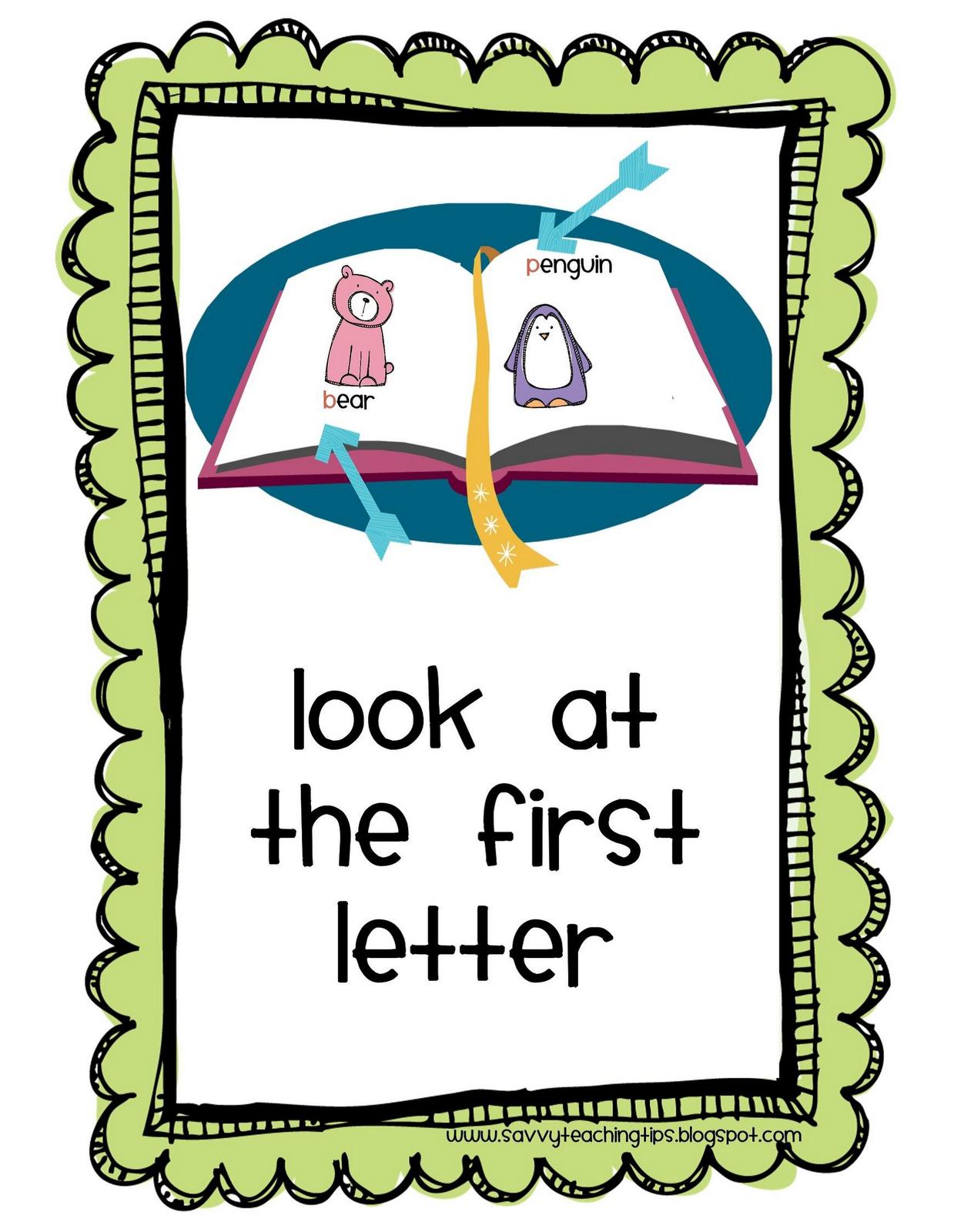 Mrs Cargill S Kindergarten Reading Strategies