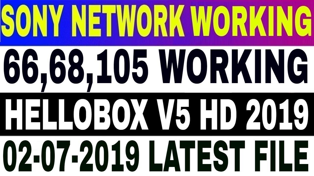 Hellobox v5 Latest Software,Asiasat7 Autoroll,Intelsat 20