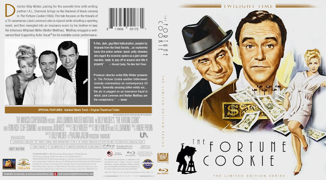 The Fortune Cookie (1966) Bluray Cover