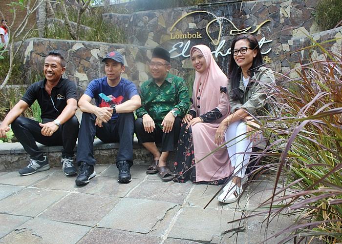 Eksplor Edutourism Spot Lombok Elephant Park bersama Gubernur NTB dan Lombok Taksi
